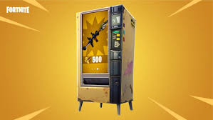 Vending Machine Cheap New Fortnite Gets Weapon Vending Machines Explosive Game Mode
