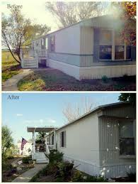 my heart s mobile home exterior before after paint valspar satin ext