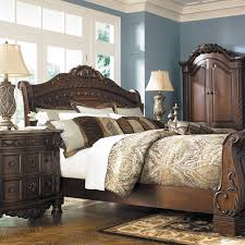 North Shore Bedroom Furniture North Shore King Sleigh Bed B553 Ksleigh Ashley Furniture Afw