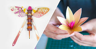 Recycled Flower Paper Recycled Paper Flower Insects For Igepa Brochure Feel