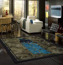 nfl camo sports team rugs