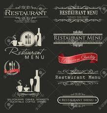 Menu Designs Retro Vintage Style Restaurant Menu Designs Royalty Free Cliparts