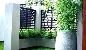 herringbone modular decorative screen panel contemporary home fencing