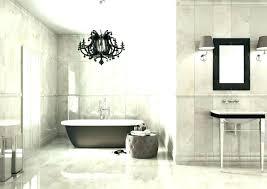 bathroom chandelier lighting small chandelier for bathroom black bathroom chandelier black crystal chandelier bathroom traditional with all white bathroom