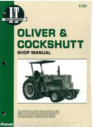 oliver cockshutt g t series farm tractor repair manual oliver cockshutt g t series farm tractor repair manual 001