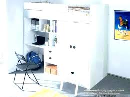 loft bed with closet underneath under wardrobes walk in and desk all one collec