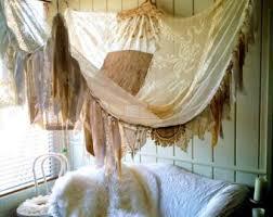 Bohemian bed canopy | Etsy