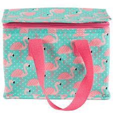 Tropical Flamingo Lunch Bag. Sass & Belle ...