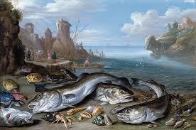 File:Jan van Kessel (I) - Harbour Scene with Fish - WGA12137.jpg ...