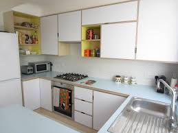 Design Of Kitchen Furniture Plywood Kitchen Birch Ply Formica Kandya Mid Century Modern