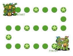 Ninja Turtles Behavior Sticker Chart Pdf Printable