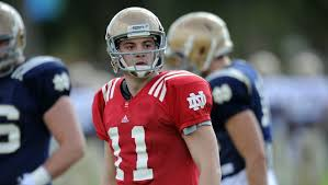 Notre Dame Backup Qb Rees Will Be Ready If Opportunity Knocks