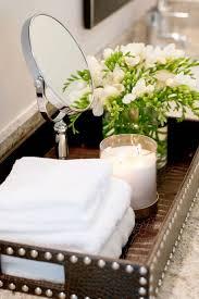Decorative Bathroom Tray 100 Bathroom Decor Hacks 30