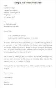 Employee Termination Letter Template Free Unique Work Termination Letter Hadenough
