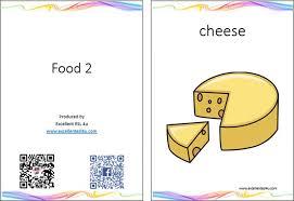 Food Flash Cards Esl Kids Food Vocabulary 2