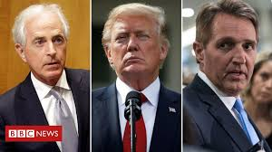 Jeff <b>Flake</b>: Republican senator quits with attack on Donald Trump ...