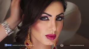 stani bridal make up enement look by tehmina ahamd