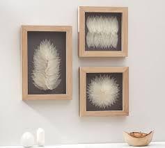leaf wall art framed