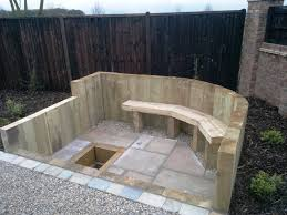 interesting sunken fire pit area photo ideas large size fire pit size a80