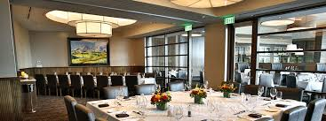 shanahan s denver steakhouse private dining view of room and table