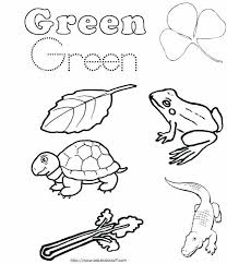 full size of colors coloring pages for preschool green color yellow worksheets co