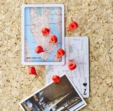 Pins For Maps Map Marker Push Pins Set Of 8 Products In 2019 Cork