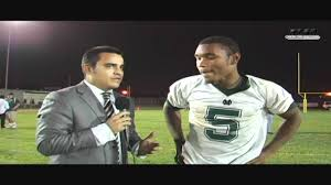 Costa Mesa Mustangs' Mario Smith post game following win over Cavaliers -  YouTube