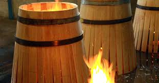 oak wine barrels. making oak barrels toasting u201c wine