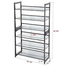 shoe rack dimensions walk in closet with slanted shoe shelves shelf dimensions shoe rack depth