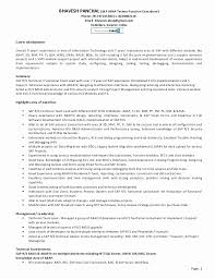 Cio Sample Resume Best Download Awesome Sap Basis Administration Sample Resume B48online