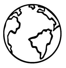 Small Picture Project Ideas Earth Coloring Pages Extraordinary Earth Coloring