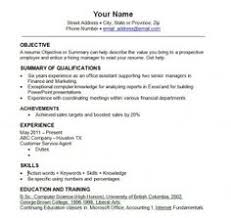 Occupational Therapy Resume Templates Http Resumesdesign Com
