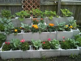15 creative cinder block raised garden