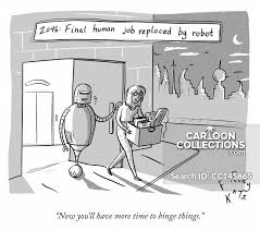 Robots Cartoons And Comics Funny Pictures From Cartoonstock