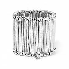 <b>Серебристый браслет</b> Olympia - купить за 10 750 руб. в Москве