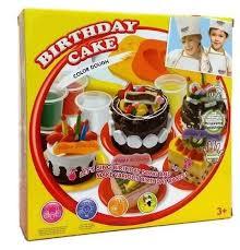 <b>Набор для лепки</b> тортов Birthday Cake <b>Color</b> Dough