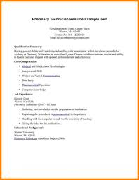 Pharmacist Resume Objective Sample Pharmacy Resume Resumes Objective Technician Examples Pharmacist 94