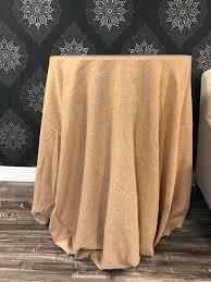 burlap 120 round table cloth