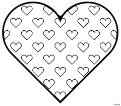 valentine hearts coloring pages. Unique Hearts Surprising Valentine Heart Coloring Pages Adults With Hearts And For To T