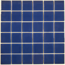 blue tiles. Navy Blue 2\u0027\u0027 X Glass Glossy Tile Tiles Q