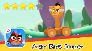 Angry Birds Journey 12-13 Walkthrough Fling Birds Solve Puzzles Recommend  index four stars - YouTube