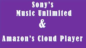 sony music unlimited logo. differences between sony\u0027s music unlimited and amazon\u0027s cloud player vs a sony logo r