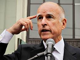 Image result for images of gov jerry brown