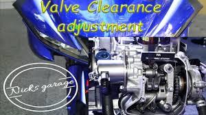 Yamaha R15 V3 Valve Clearance Adjustment