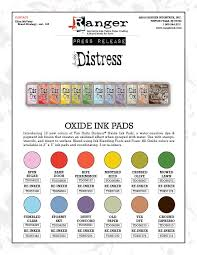 Ranger Distress Oxide Color Chart Www Bedowntowndaytona Com