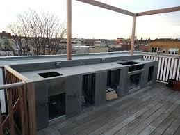 modular outdoor kitchen kits fascinating outdoor kitchen steel frame kit amazing how to build an with