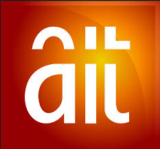 Image result for pictures of president buhari inside ait logo