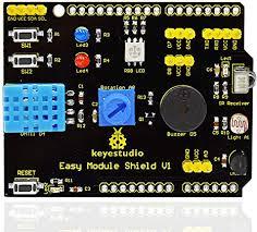 KEYESTUDIO <b>Multipurpose Shield</b> V1 <b>Expansion Board</b>: Amazon ...