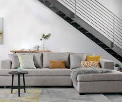 Contemporary living room couches Comfy Plush Modern Living Room Sectional Sofa Kmart Living Room Furniture Scandinavian Designs