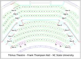 Nc State Seating Chart Plan Your Visit Theatre